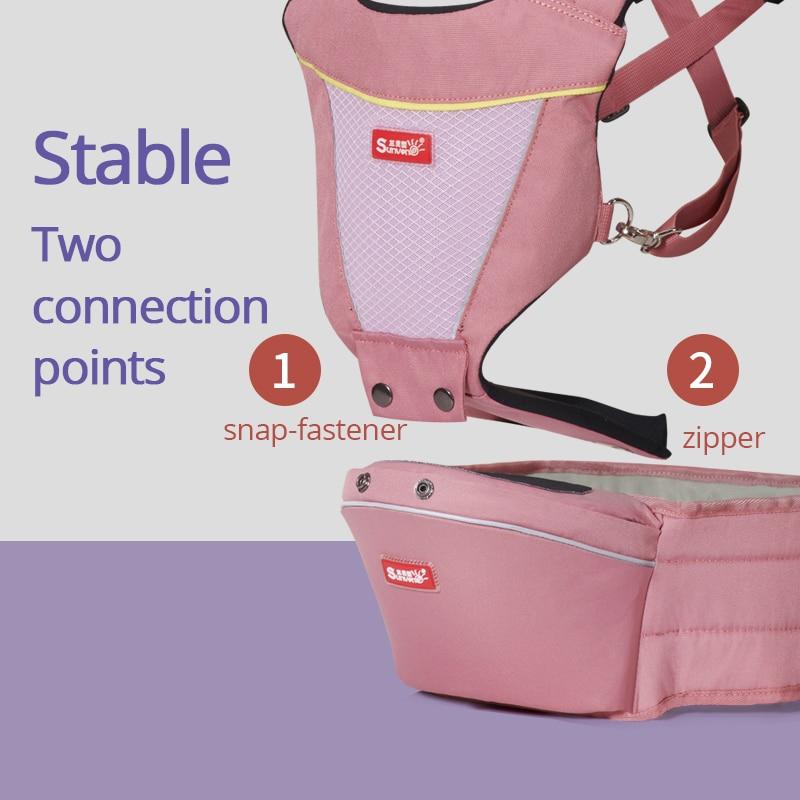 Ergonomic Sling Carrier for Newborn Baby 1