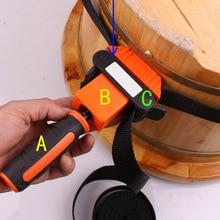 Многофункциональный Зажим для ремня нейлон TPR ручка полигоны угол Зажим 4 ярдов с 4 м ремни деревообрабатывающий инструмент TUE88
