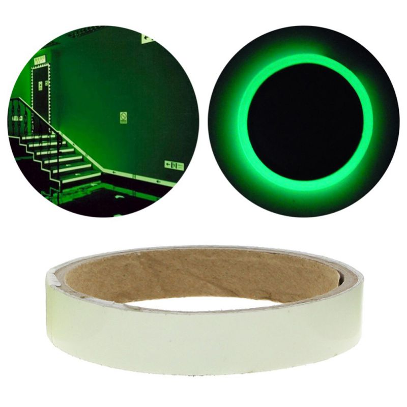 Glow In The Dark Tape Luminous Tape Self-adhesive Night Luminous Fluorescent Sticker Home Decoration Luminous