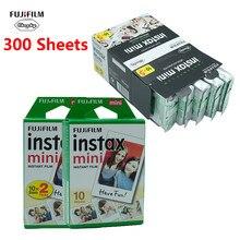 Мини-пленка Fujifilm 10 20 40 60 80 100 200 300 листов для мгновенной печати камер Fuji Instax, фотобумага Instax Mini 7s/8/90/9/11