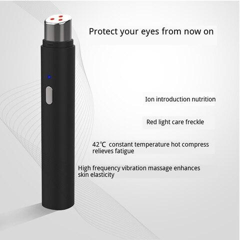 Alta Freq ncia de Vibra o Micro Ferramenta de Massagem Cuidados Com Os Olhos da