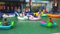 Outdoor aqua water tank paddle boat for small water playground