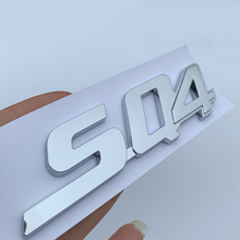 Glänzend Schwarz Buchstaben Emblem für Maserati Ghibli Gransport Quattroporte Granlusso Q4 SQ4 GTS Logo Auto Stamm Seite Aufkleber Chrom