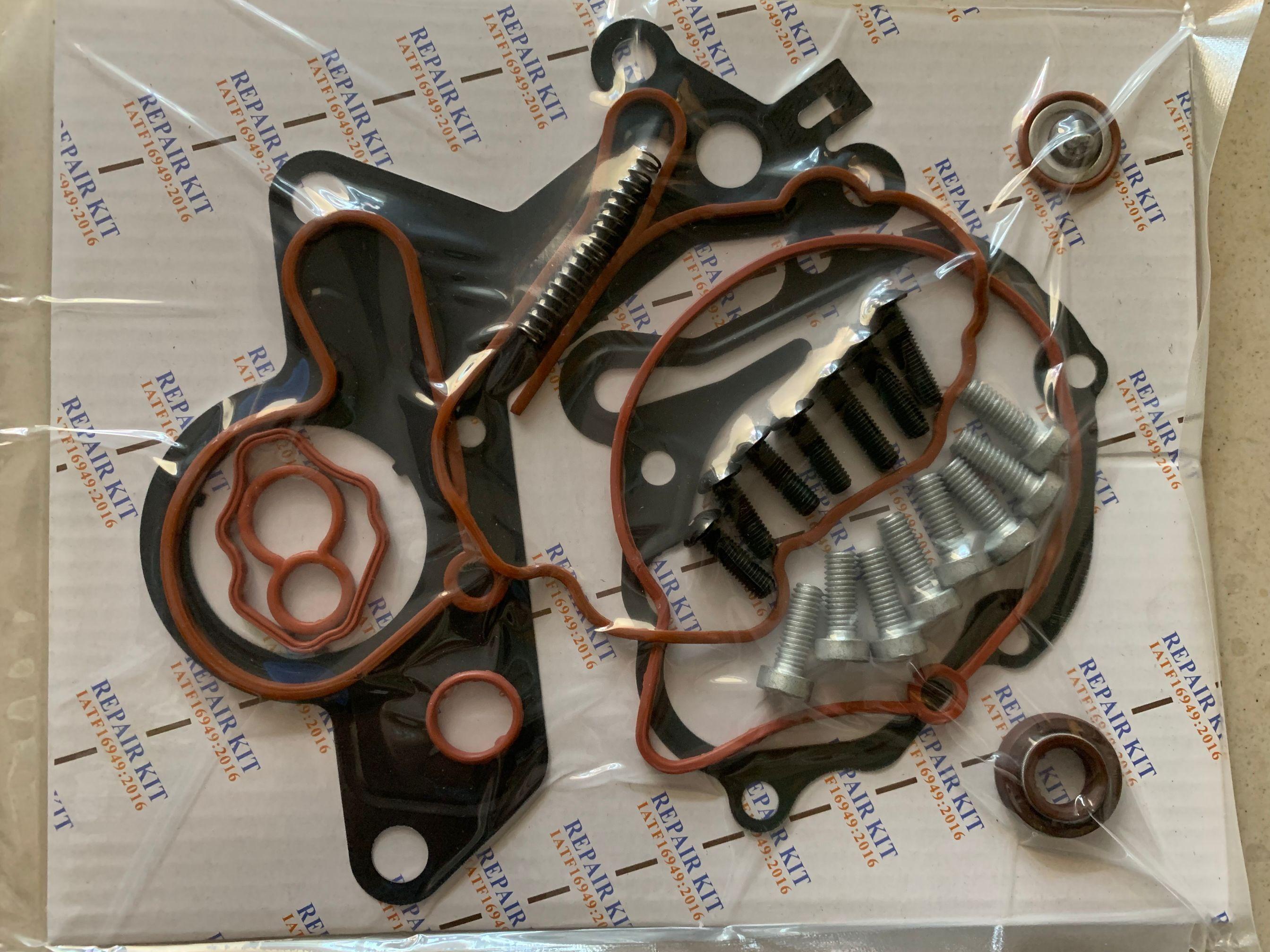 For VW AUDI SEAT 1.2TDI 1.4TDI 1.9TDI 2.0TDI 038145209 Vacuum Fuel Tandem Pump Repair Kit