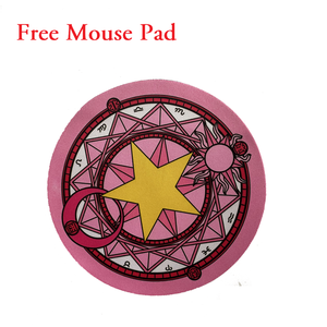 Image 5 - Notebook 3 in 1 Wireless Keyboard Mouse Combos 2.4G Wireless Number Pad Pink Round Punk Mini Keyboard and Mouse Free Mouse Pad