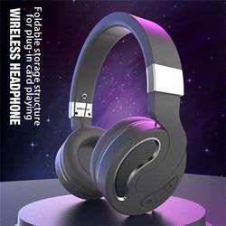 Bluetooth беспроводные наушники Hi-Fi стерео музыку через Bluetooth с микрофоном Складная гарнитура за ухо наушники спортивные наушники с микрофоном, ...