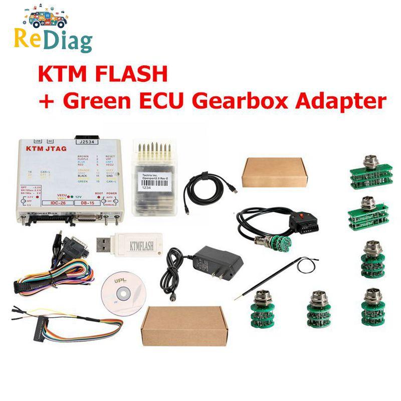 NEWLY KTMFLASH V1.95 ECU Programmer & Transmission Power Upgrade Tool KTM Flash OPENPORT J2534 Cable