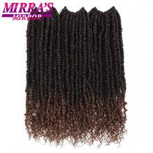 Passion Twist Crochet Hair Braiding Hair Pre Twisted Passion