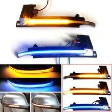 Dinâmica Espelho Blinker Luz para Audi A3 8P A4 A5 B8 Q3 A6 C6 4F S6 LED Turno Sinal Indicador Side SQ3 A8 D3 8K