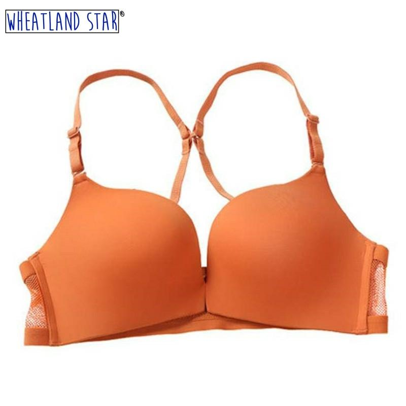 Seamless Sexy Bras For Woman Push Up Bra Wireless Front Closure Brassiere Intimate Underwear Female Kit Lingeire Women Intimates