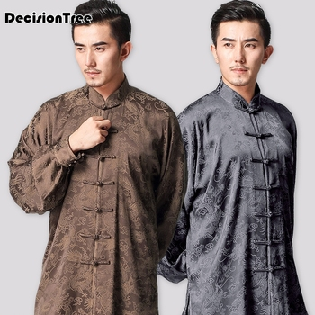 2019 chinese kung fu sets jiu jitsu wushu uniform tai chi suit top+ pants uniform china tang style martial art sets for men