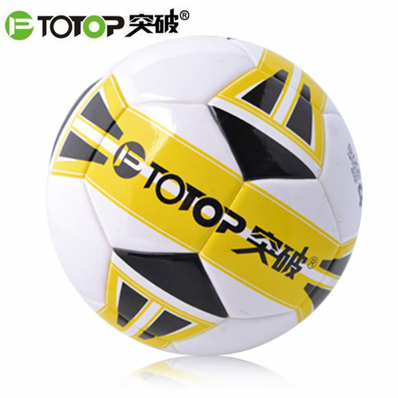 PTOTOP Professional PU Kids Youth Students Standard Size Anti-Slip Match Training Practice Competition Football Soccer Ball