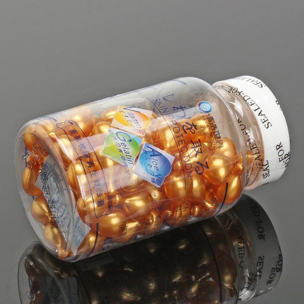 90 Tables Vitamin E Capsules Serum Spot Freckle face skin serum Capsule Acne care Removing I5O3