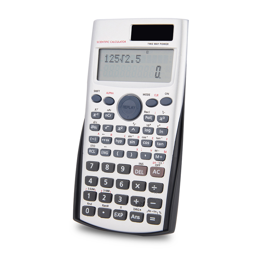 Calculators Office Stationary Large Calculator with 12 Digital Electronic Scientific Calculator Scientific Calculators Student 240 Functions 2 Line Display