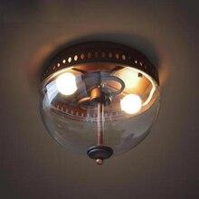 HAIXIANG moderna lámpara LED K9 de cristal, lámpara de techo, iluminación de dormitorio, lámpara de luz fresca