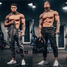 Sportswear Pants Bodybuilding Men Running Joggers Fitness-Trousers New Gym Cotton