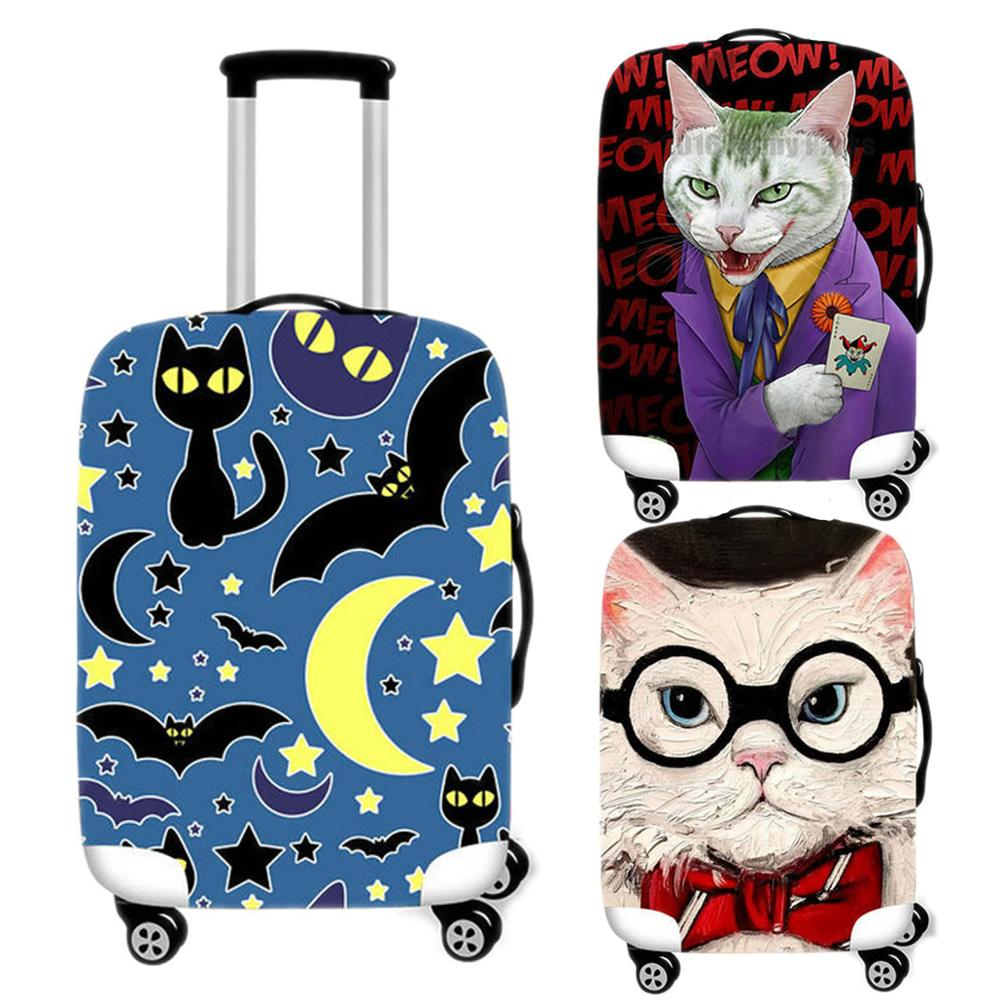 Cover Suitcase Protective-Cover Cat-Luggage-Case Travel-Accessories Trunk Elastic Thicken