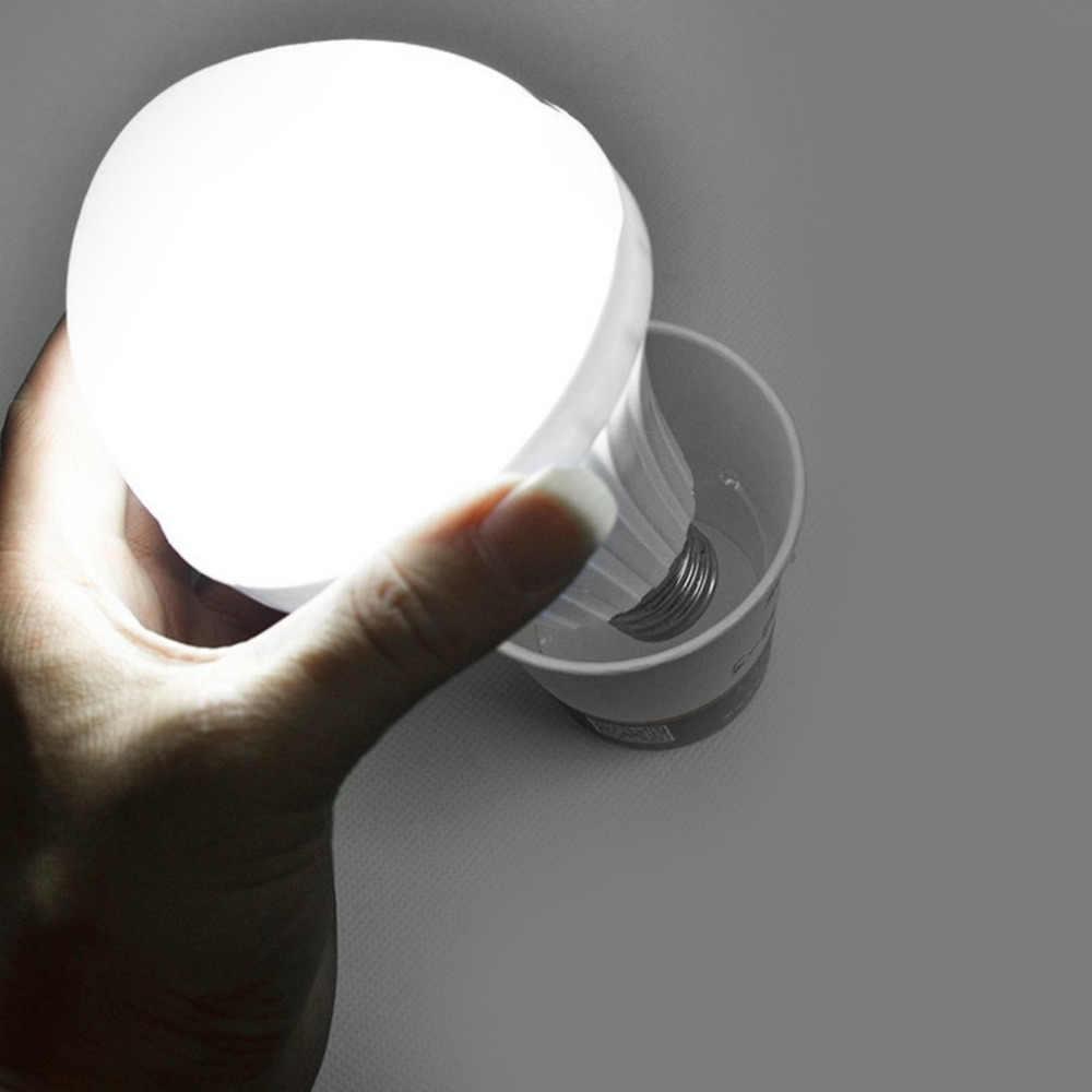New 1 Pc 5W LED Emergency Bulbs E27 B22 Bulb Rechargeable Lighting Lamp In