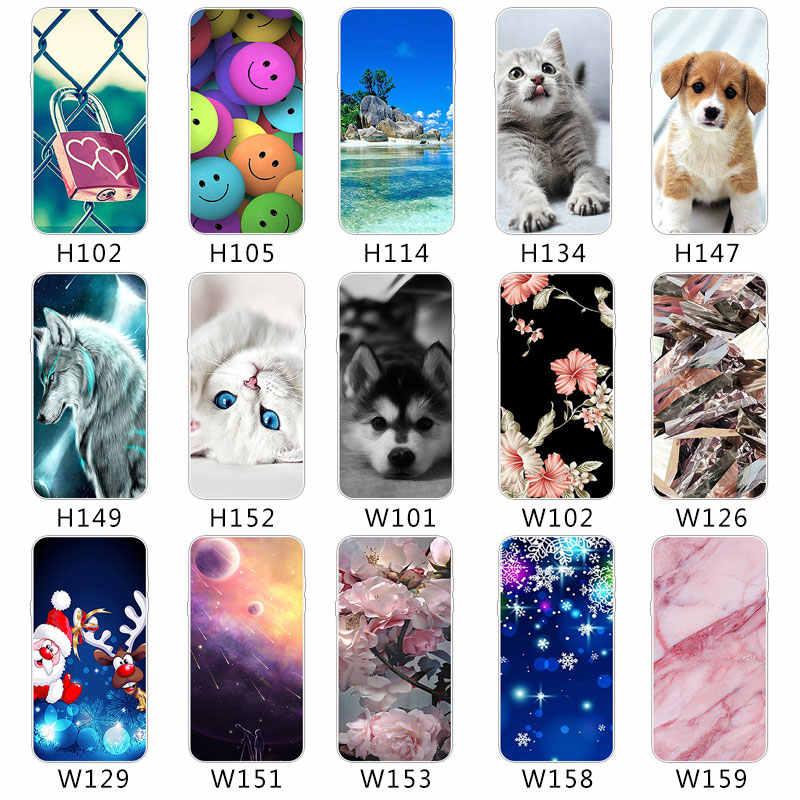 OnePlus 5 T için 3 2 5 TPU Ultra Ince Telefon Monte Kılıfları ZTE blade V7 Lite Axon 7 A2017 Mini şeffaf Yumuşak Silikon Kapak