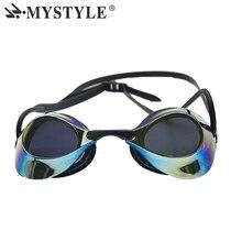 MYSTYLE, новинка, очки для плавания, для бассейна, для мужчин, анти-туман, УФ, для женщин, профессиональные очки для плавания, водонепроницаемые, для взрослых, защита, спортивные очки