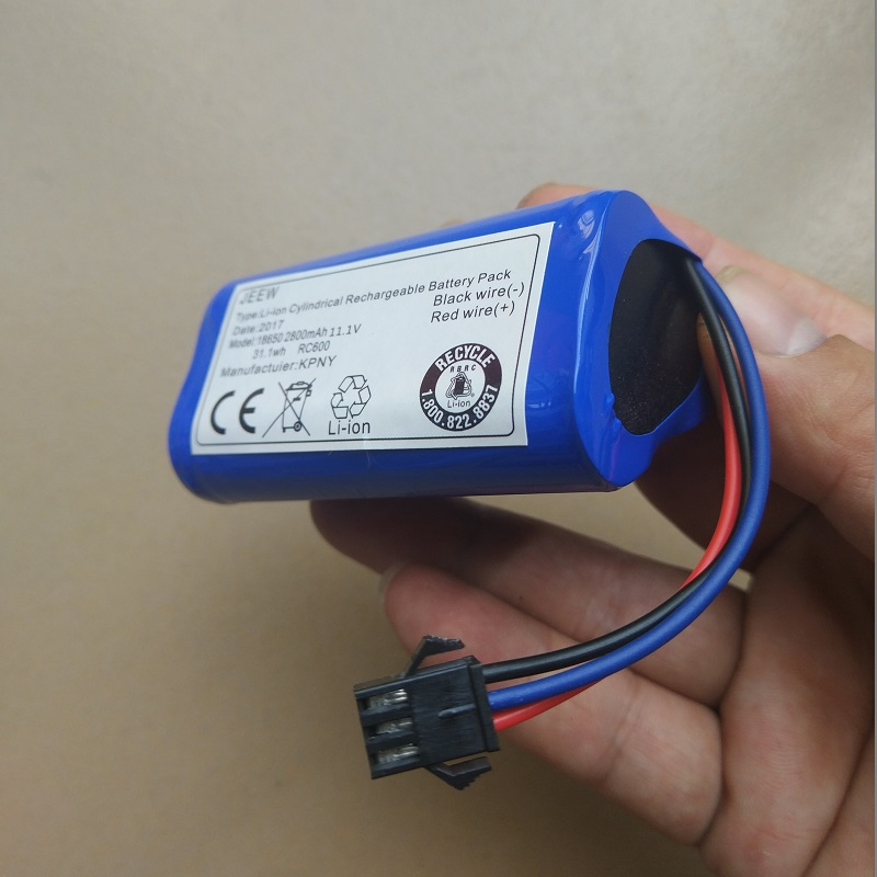 DA611 D36E D36B Akku für Ecovacs D36A D36C DA60 DB35 2600mAh 10,8V Li-Ion