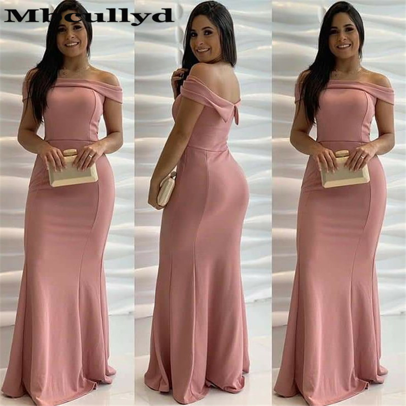 Mbcullyd Strapless Mermaid   Prom     Dresses   Long Luxury Satin Formal Evening   Dress   For Women Africa Ladies robe de soiree