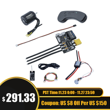 סקייטבורד ESC קומבו מנוע 6374 + FSESC 6.6 + מרחוק בקר + Bluetooth סקייטבורד מנוע DIY ערכת השלמה מלאה