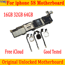 Mainboard Icloud iPhone 5s Full-Unlocked for 32GB/64GB 100%Original Id-Free With/no-Touch