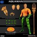 MEZCO 77441 EIN: 12 DC Comics Aquaman 6-inch action figur