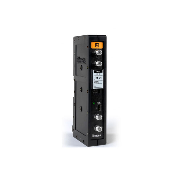 Amplificador T.12 UHF Single Channel/multichannel FREEVIEW Televes 5086 Channel 36