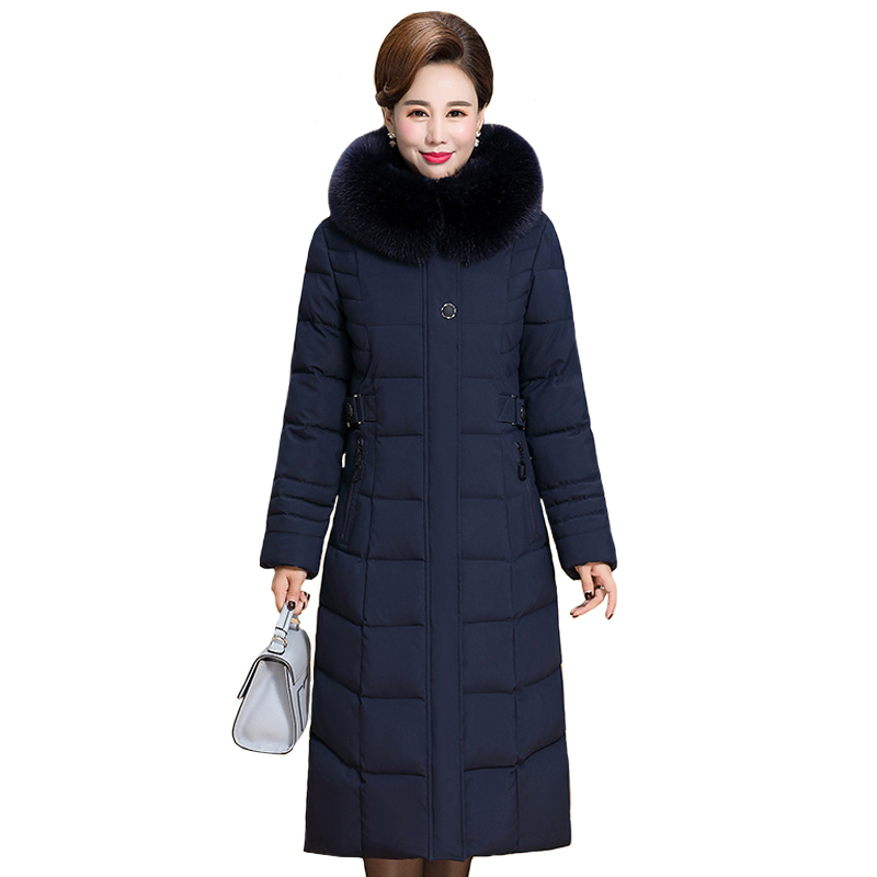 2019 Winter Jacket Women Plus Size 5XL 6XL Warm Middle-aged Women Jacket Winter Hooded Women Coat Winter Women Coat Long   Parkas