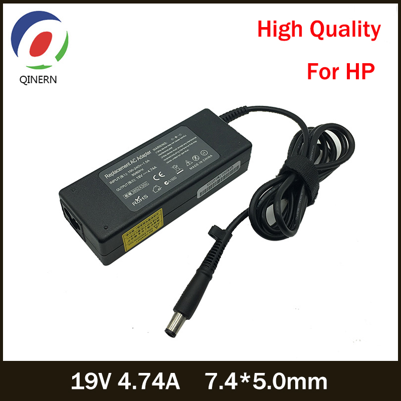 19V 4.74A 90W 7.4*5.0mm AC Laptop Adapter Notebook Power Supply For HP Pavilion DV3 DV4 DV5 DV6 Charge Adapter Charging Device
