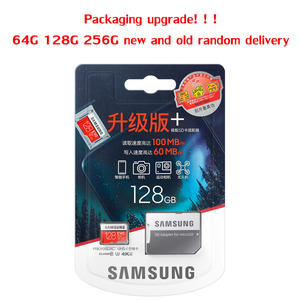 Image 2 - SAMSUNG Original Micro SD card 128 GB u3 Memory Card 128gb EVO Plus sdhc u3 c10 TF Card C10 90MB/S MICROSDXC UHS 1 Free Shipping
