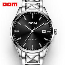 Dom Мужские автоматические механические Бизнес часы Для мужчин