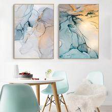 купить Unframed Wall Art Canvas Oil Painting Style Plant Nordic Posters and Prints Picture Modern Home Decoration по цене 94.44 рублей