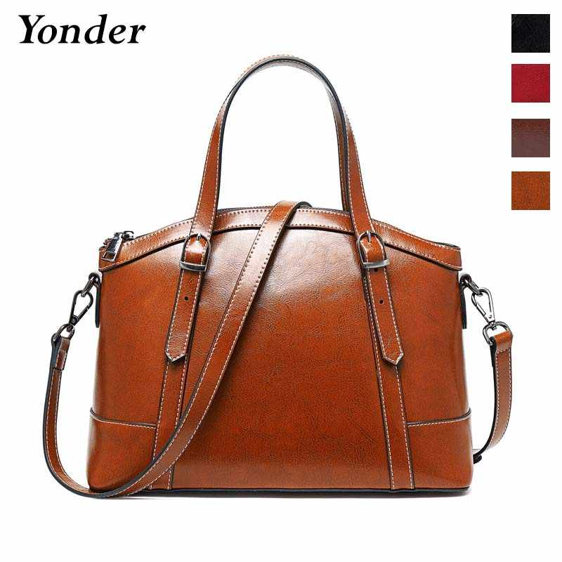 Fashion luxury shell gift hand bag women's handbag genuine leather bag ladies purse tote shoulder bags for women black brown red