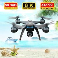 2021 nuovo F5 PRO 6K 5G HD Gimbal Camera GPS doppio posizionamento motore di potenza 2KM distanza di controllo RC Drone con 3 batterie VS SG906PRO