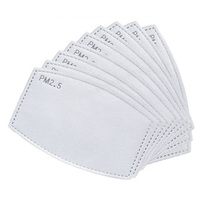 120Pcs PM 2 5 Maske Aktivkohle Gesicht Maske Atmen Einfügen Schutz Mund Ma Staub Maske-in Masken aus Sicherheit und Schutz bei