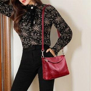 Image 4 - كيس الرئيسي حقيبة يد فاخرة جلدية صغيرة حقائب النساء مصمم السيدات الكتف Crossbody حقائب اليد للنساء 2020 بولسا الأنثوية