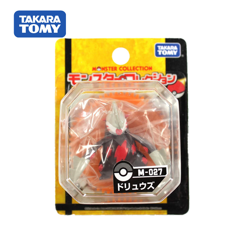 Takara Tomy Japan Anime Pokemon Dolls Collectible Figure Moncolle Doll Pocket Monster Figures Children Gifts