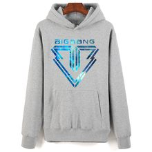 Bigbang LOGO Print Hoodies Fashion Men Women Casual Hoodie Gdragon Fans Must Hoodies Harajuku Pullover Autumn Warm Sweatshirts(China)