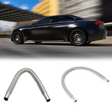 120cm Stainless Steel Air Heater Exhaust Pipe for Car Parking Fuel Tank Diesel Gas Vent