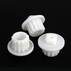 3 sztuk Gears części zamienne do maszynki do mielenia mięsa plastikowe maszynki do mielenia dla Zelmer Bosch Philips PH002|Części do maszynek do mielenia|AGD -