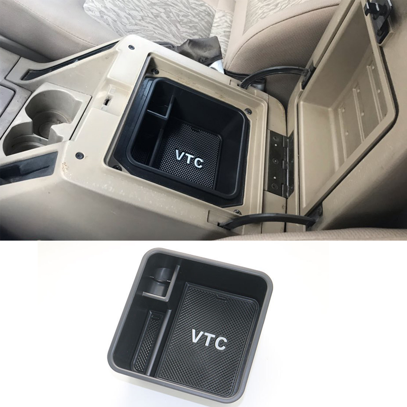 Central Armrest Console Tray Organizer Storage Box For Nissan Patrol Armada Y61 VTC Accessories