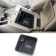 Boîte de rangement pour Console accoudoir Central, organisateur de plateau pour Nissan Patrol Armada Y61 VTC accessoires