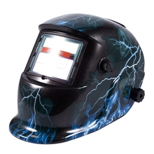 Welding mask Welding helmet Solar energy automatic (solar energy use for refill) Facial protection accessories Blue flash цена и фото