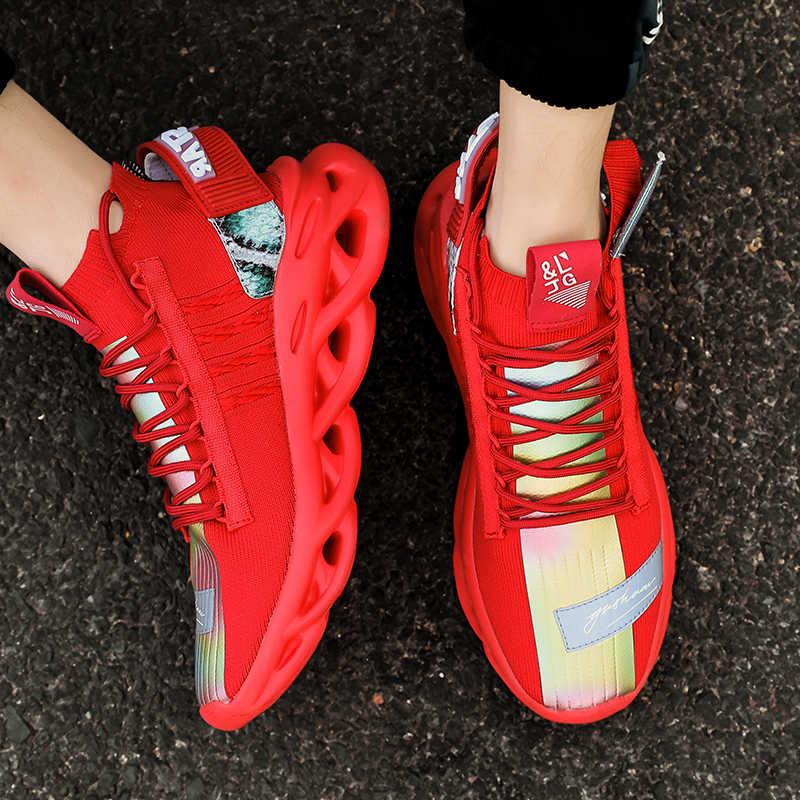 Moipheng ayakkabı kadın 2020 yeni bahar rahat moda Flats bayanlar boyutu 35-46 ayakkabı sonbahar erkekler kırmızı spor ayakkabı koşu sevgilisi ayakkabı
