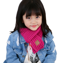 Children's winter knitted scarves boys girls kids thick warm scarf knitting long scarf autumn winter Imitation wool neckerchief top sell women s scarf winter wool knitted candy colors scarves soft comfortable thick warm handmade scarves