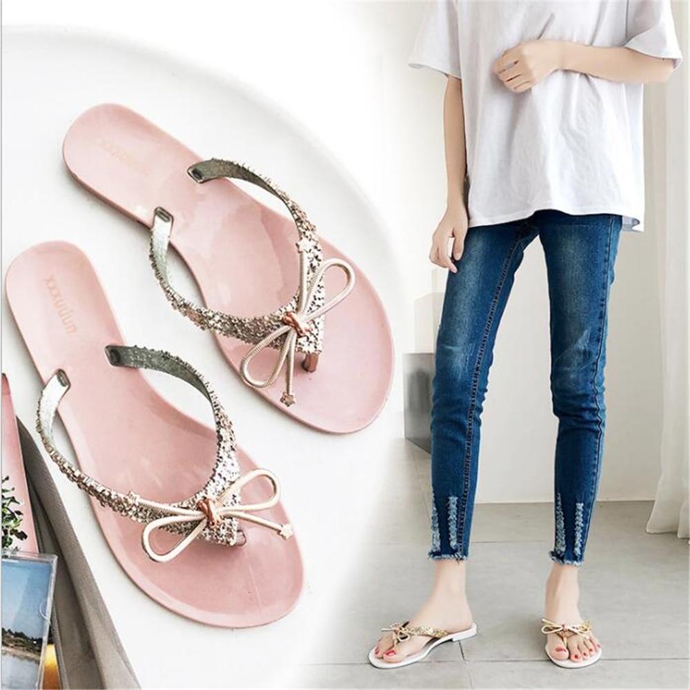 Sandals Women Slipper Summer Flip-flops Shoes Sandals Slipper indoor & outdoor Flip-flops Lady Shoes  Zapatos de mujer y952