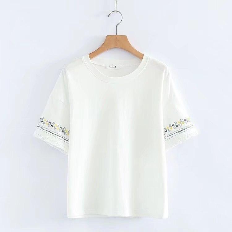 2020 New Printed Women T-shirts leisure Summer Short Sleeve Female T shirt Women Clothing